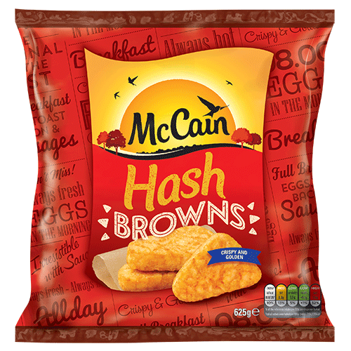 Hash Browns 625g