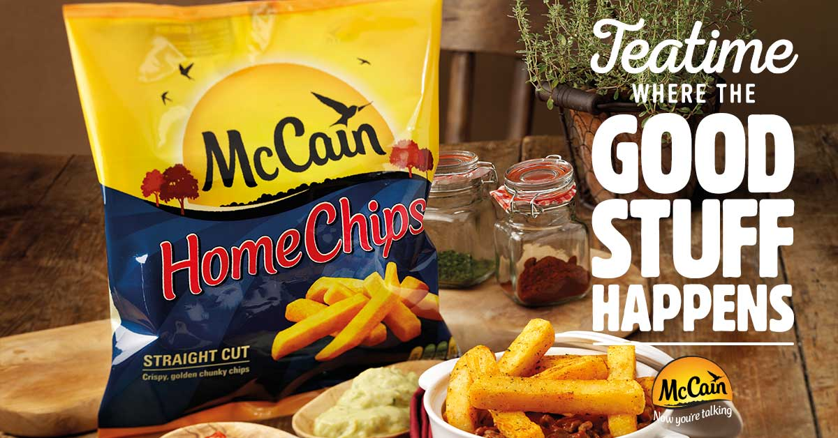 mccain oven chips gluten free