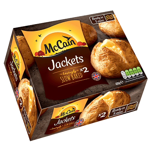Mccain Ready Baked Jacket Potatoes Baked Potatoes