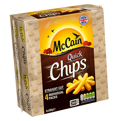 Microwave Chips - McCain Straight Cut Quick Chips
