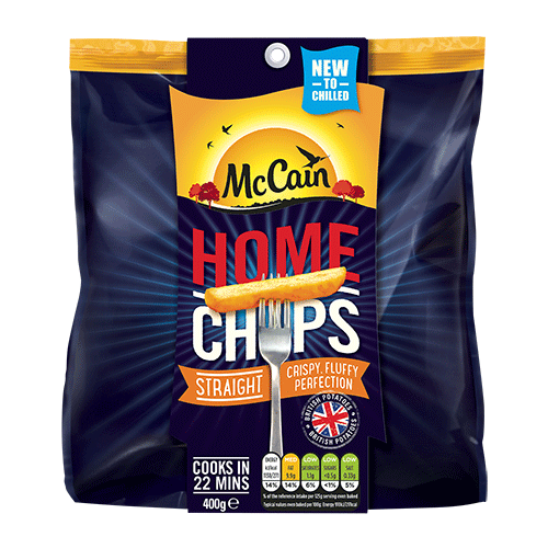 McCain Home Chips Chilled